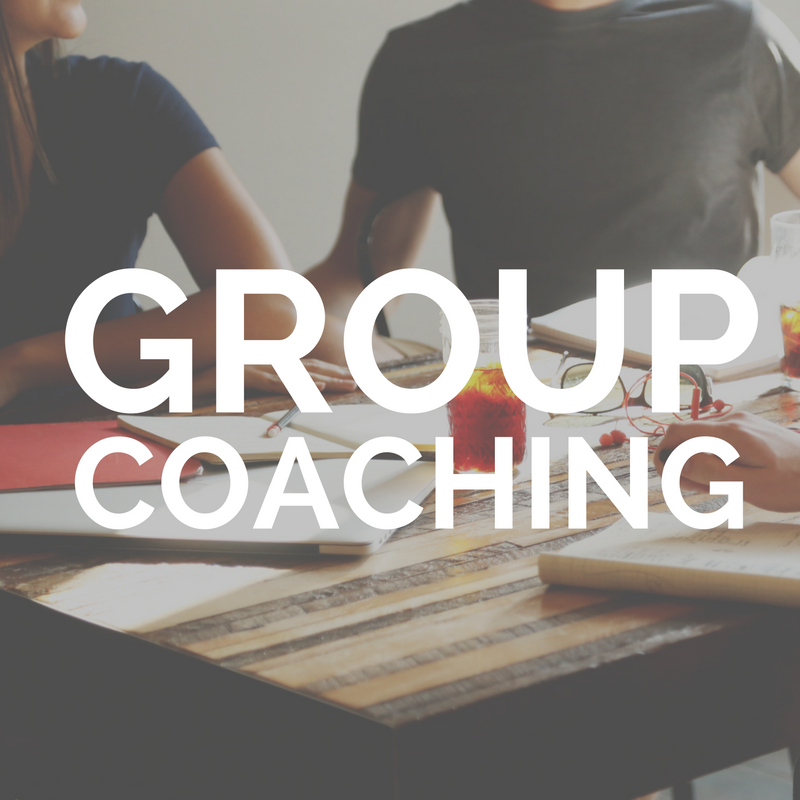 Eight 90 minute group calls    That's two per month with me and a team of up to seven other entrepreneurs. On the calls, we will create support and the mindset shifts you need to get your business off the ground or take it to the next level.