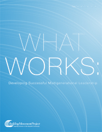 What Works: Developing Successful Mutigenerational Leadership