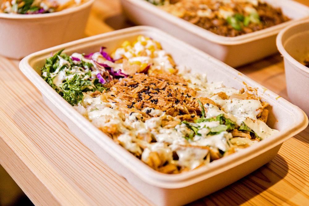 Rice Platter -