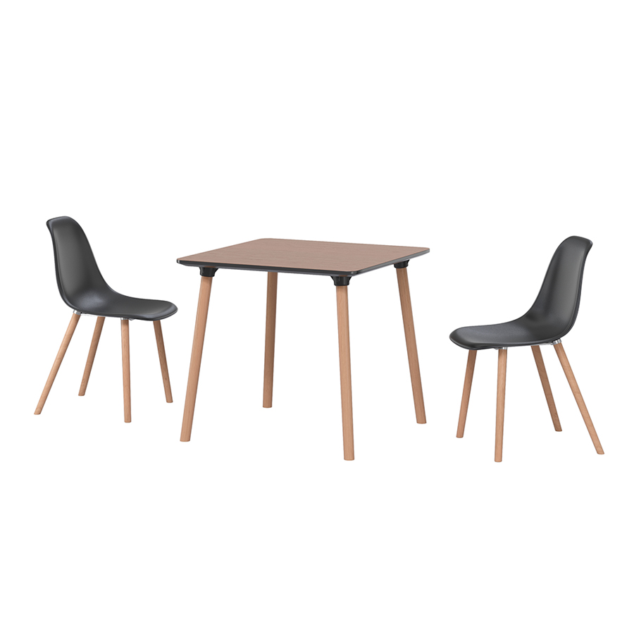 Enzo Table / Inc Chairs