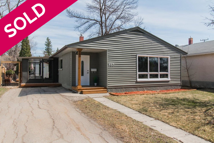 Sold - 463 Olive St - Winnipeg - St James