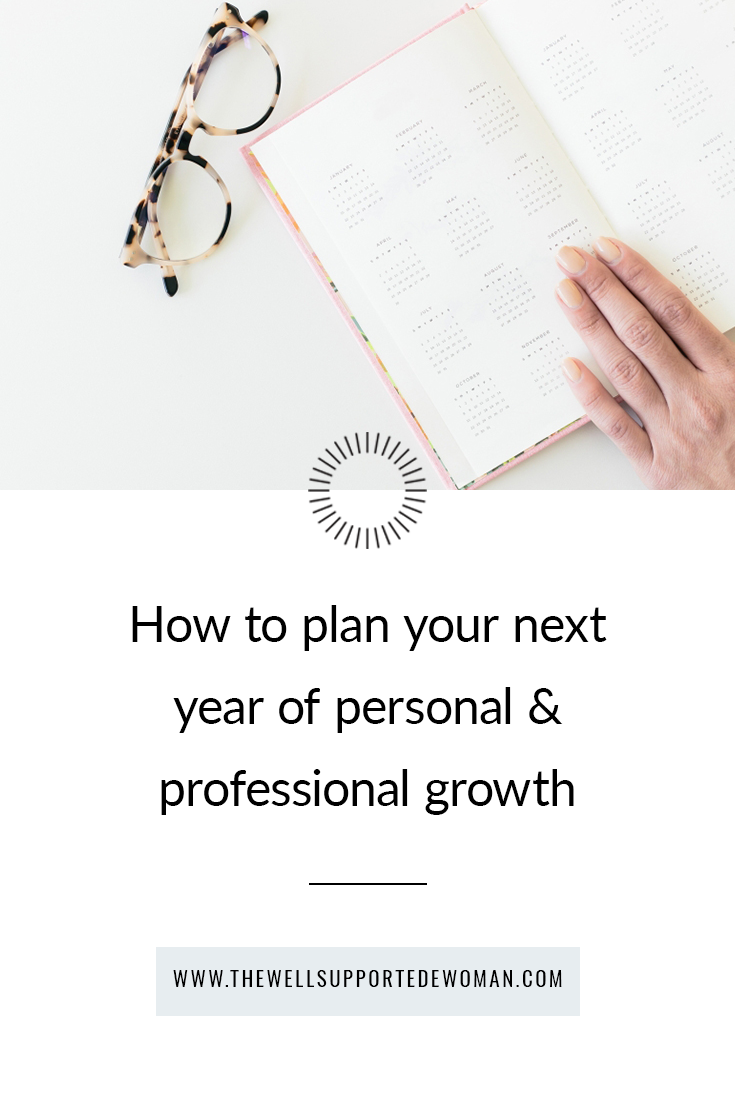 Women's life coach Laura Weldy reviews how to create a dynamic 12 month plan for your own personal & professional growth - and why it's vital that you do this!