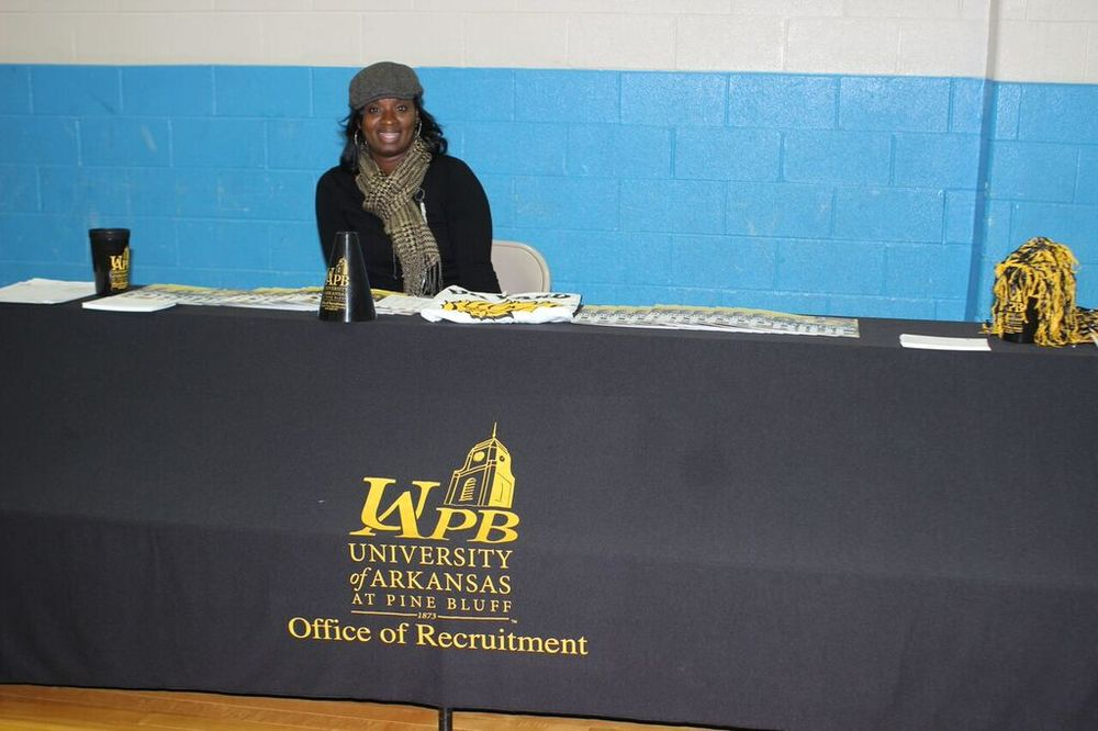 University of Arkansas at Pine Bluff at the College/Career Fair during the HBCU Experience