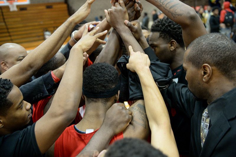 CAU Men's Basketball Team