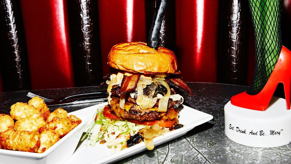 Let Hamburger Mary's Take Over The World  ,  Bon Appétit,  July 2017