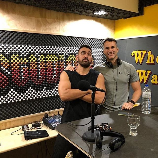 Just finished an incredible Interview with @brandnewjones #radiohub #podcast #music #musician #rap #quantumphysics #randb #fitnessmotivation #privatestudio