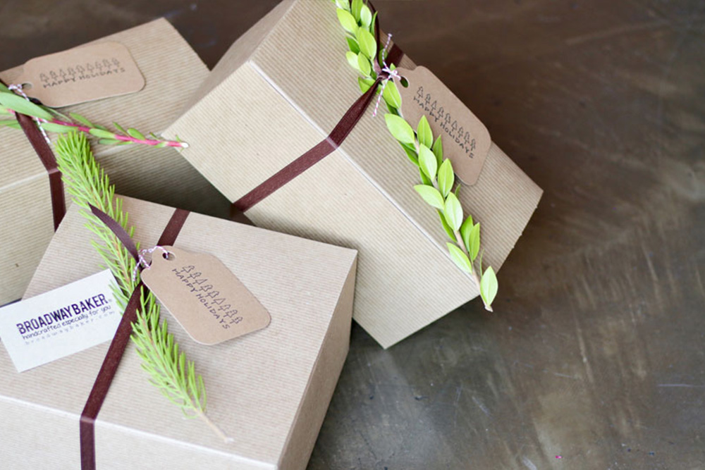 Box of Surprises - Give your loved ones or coworkers a beautifully wrapped box full of fresh goodies handpicked by us.