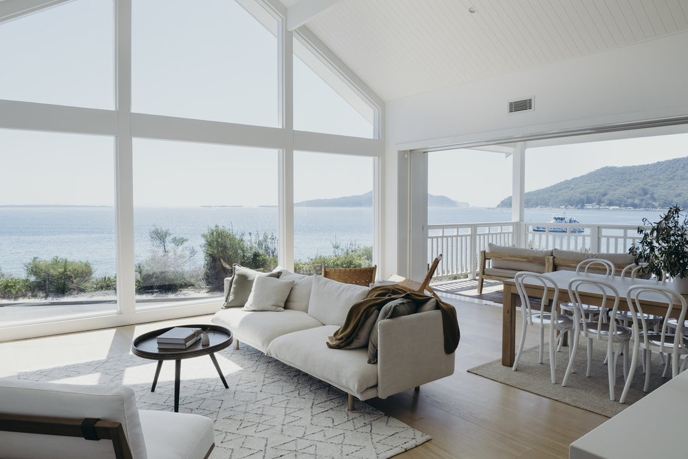After:  Upper Level -  Living room