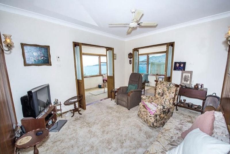 Before:  Upper Level -  Living room