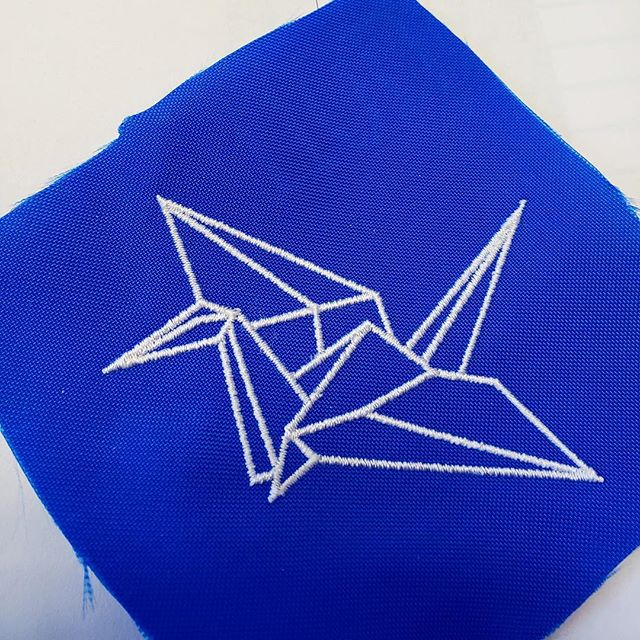 Embroidery test. Finally ready to start printing the hats.