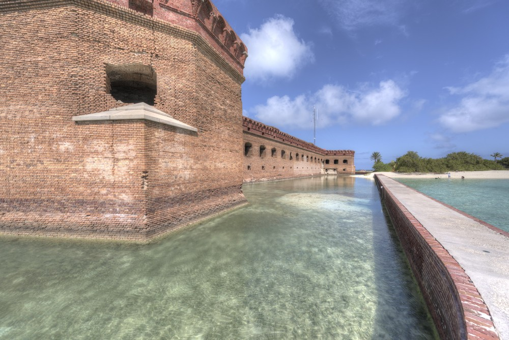 Dry Tortugas/Fort Jefferson, photo by Russell Conard.