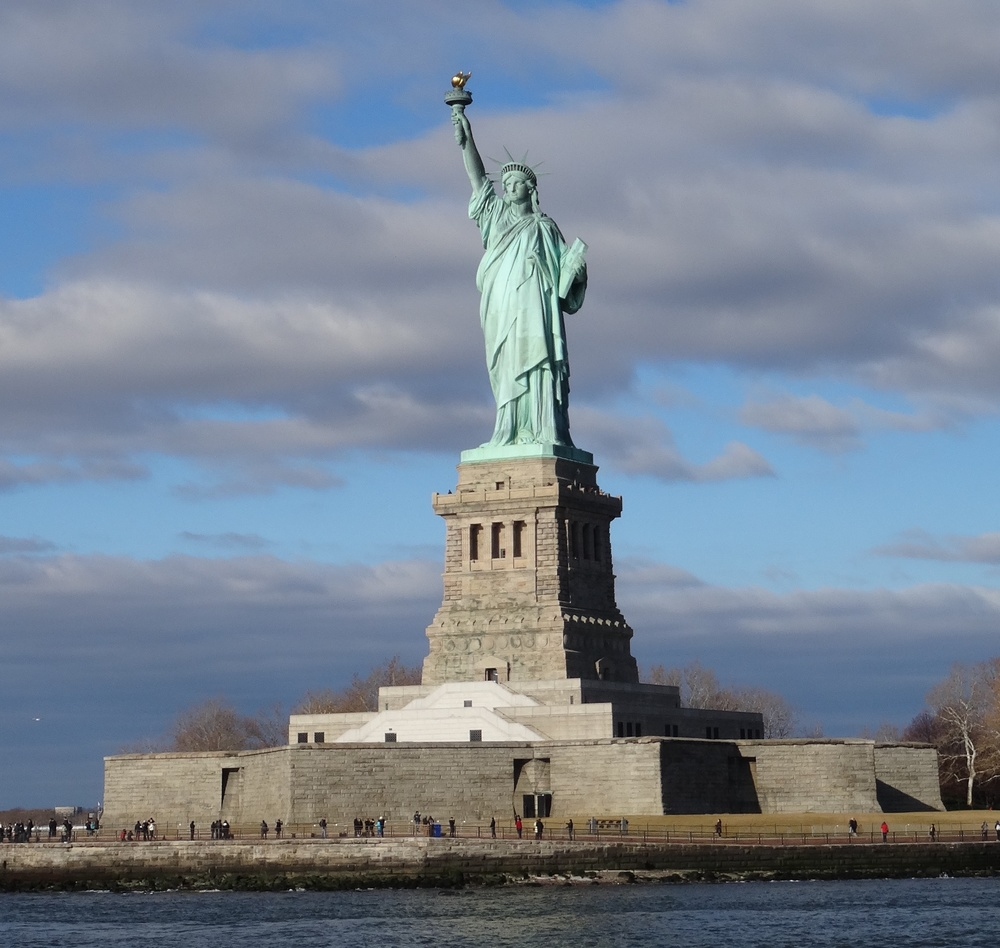 Statue of Liberty,  photo  by Steve Larson /  CC BY .