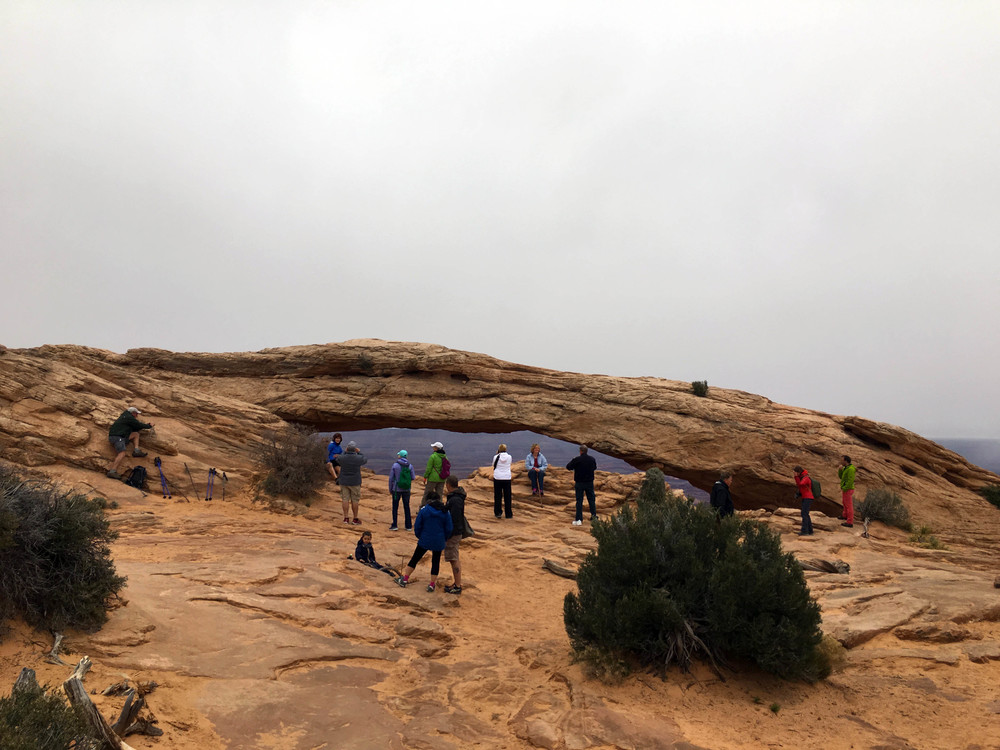 Mesa Arch, Canyonlands National Park.
