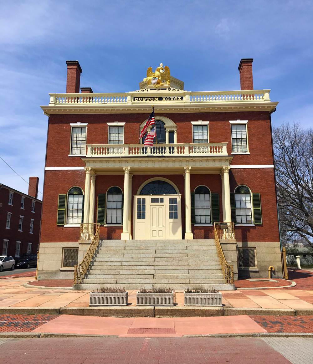 Custom House, Salem Maritime National Historic Site, photo by Derek Wright.