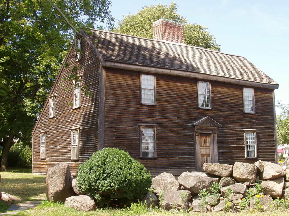 John Adams Birthplace, photo by Daderot / CC BY