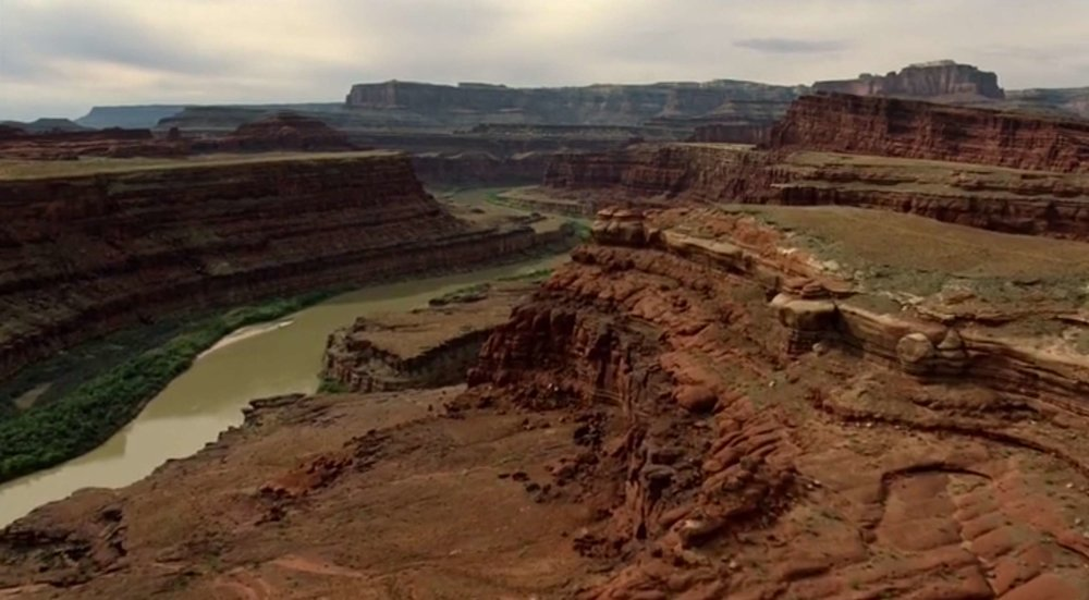 Dead Horse Point State Park/Canyonlands National Park, courtesy of HBO.