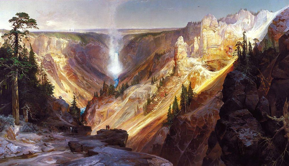 The Grand Canyon of the Yellowstone, Thomas Moran, Smithsonian American Art Museum.