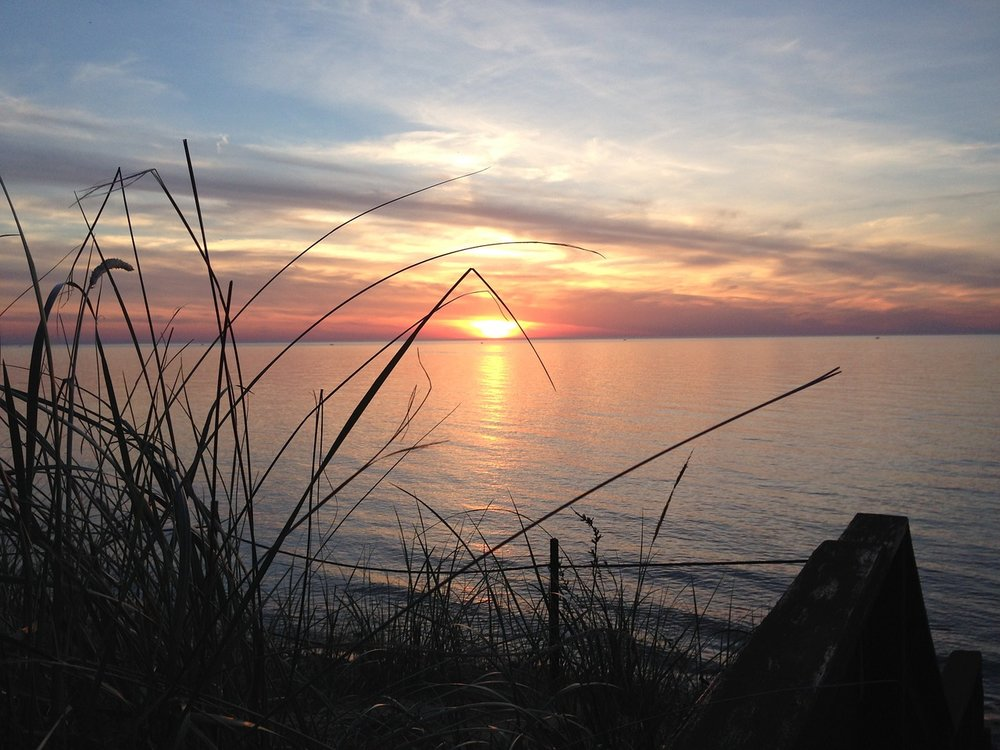 Lake Michigan, just north of Onekama, Michigan