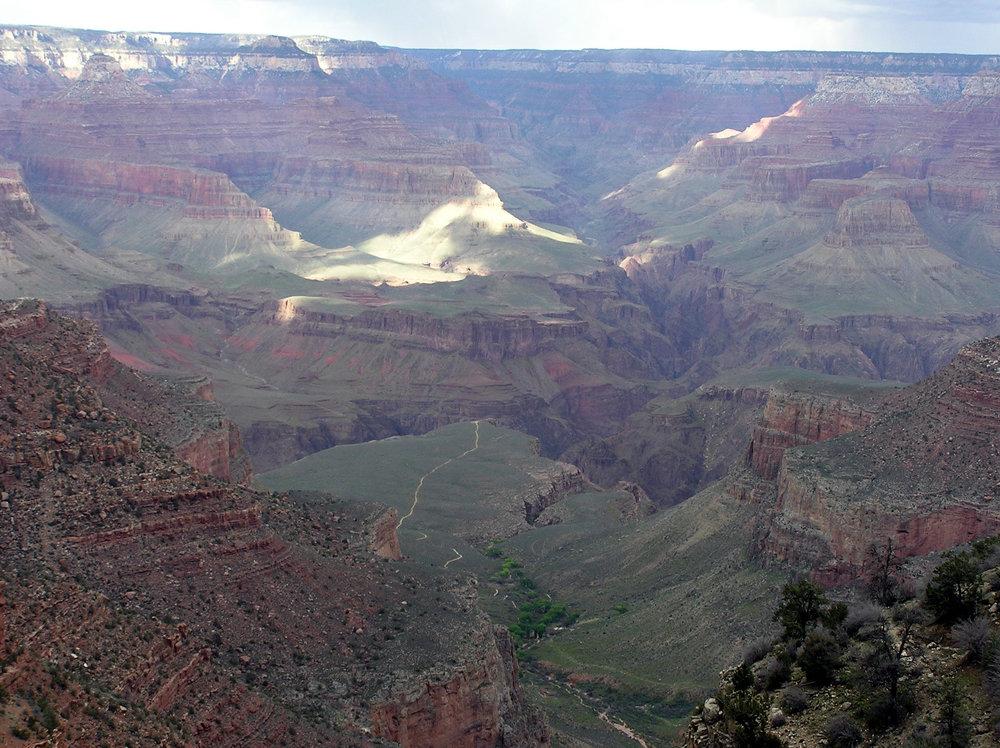 Last Gaze on Desert Outlook, Grand Canyon