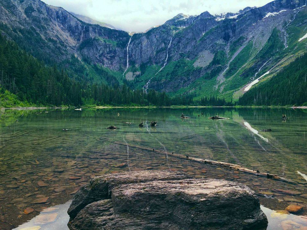 Avalanche Lake.