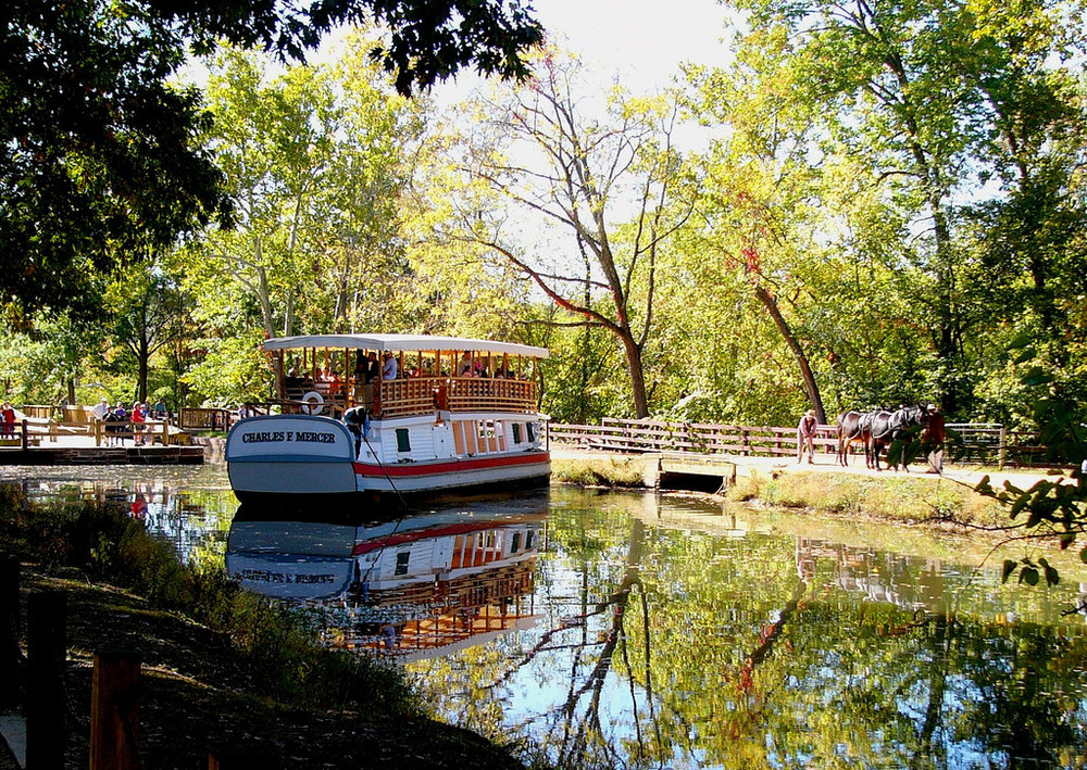 Chesapeake and Ohio Canal National Historic Park,  photo by  Kathleen Tyler Conklin  / CC