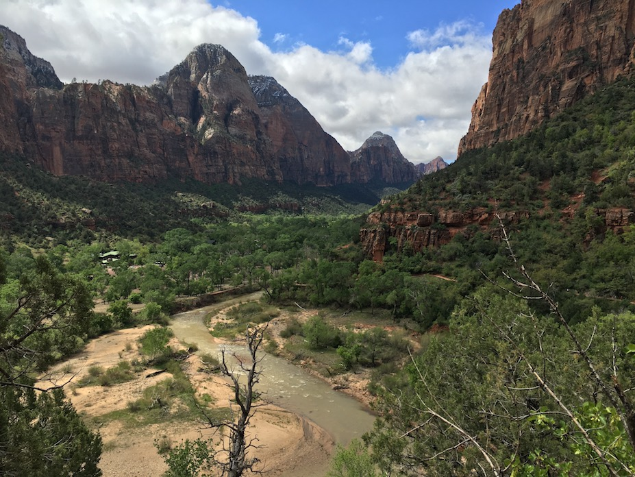 Zion National Park, photo by Amy Beth Wright.