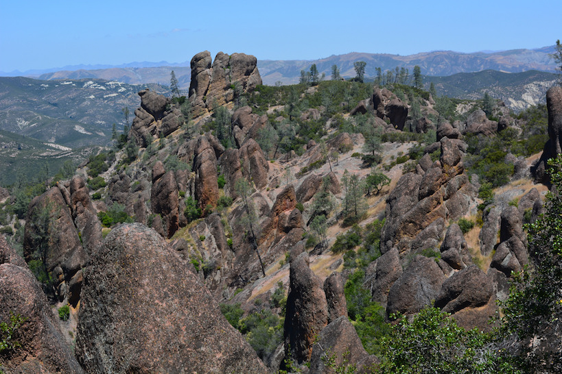 Pinnacles National Park,  photo  by Daniel Hartwig/ CC 2.0