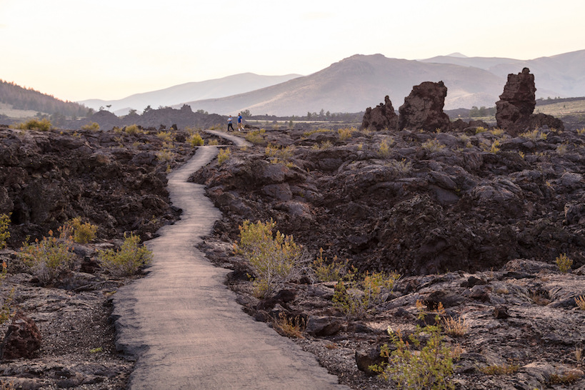 Craters of the Moon National Monument & Preserve, photo courtesy National Park Service.