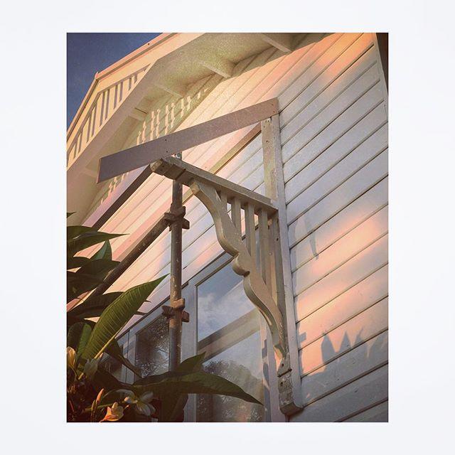 morning light  #windowdetails  #timbercottage #coastalstyle #mybeachybungalow