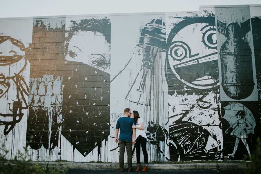 St Pete Murals Engagement Session Daddy Kool Hyppo -46.jpg