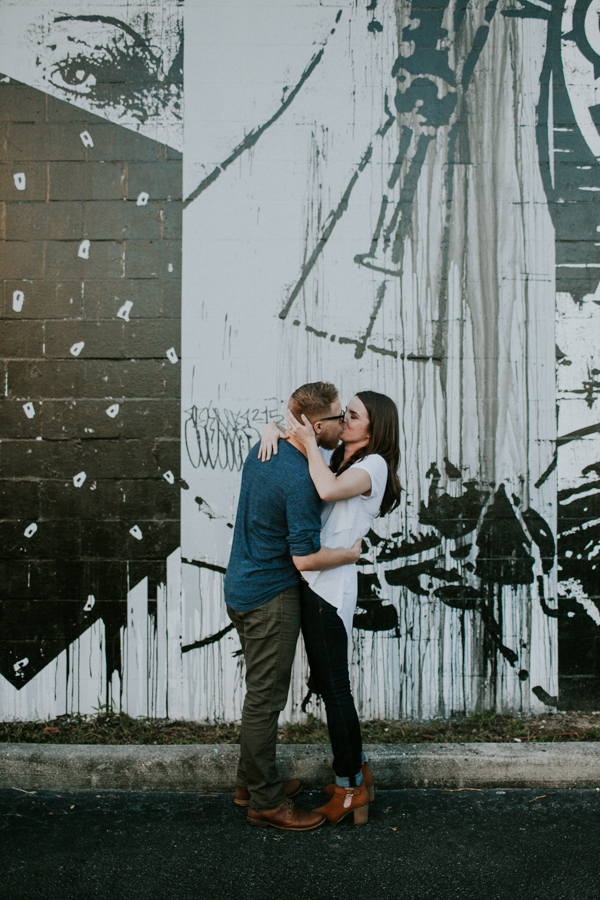 St Pete Murals Engagement Session Daddy Kool Hyppo -50.jpg