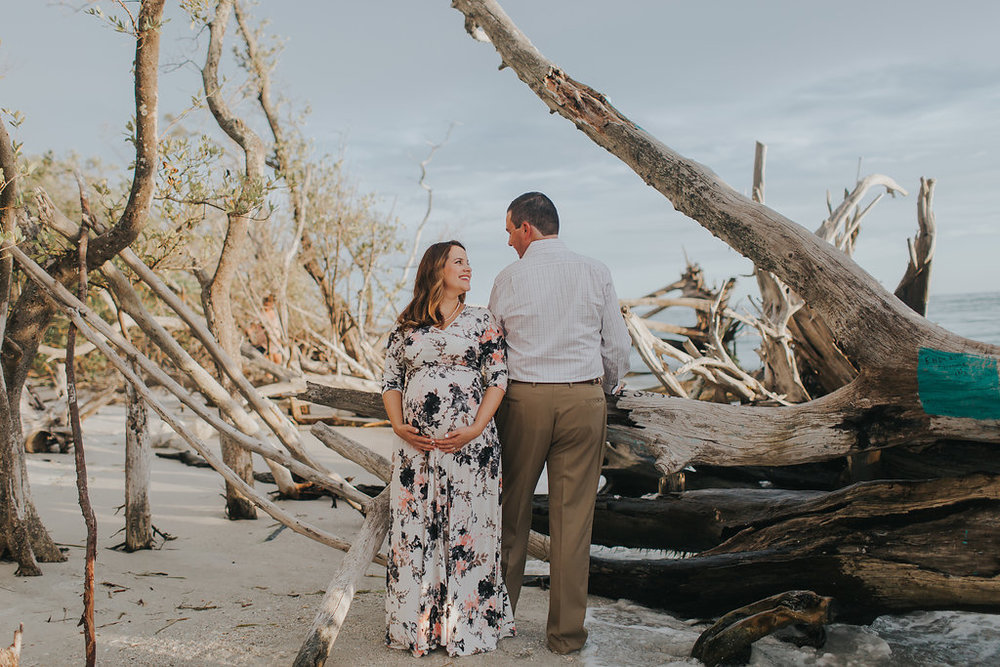 longboat key floral maternity session at beer can island moody_17.jpg