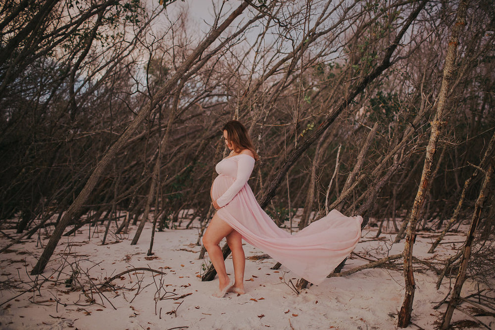 longboat key floral maternity session at beer can island moody_35.jpg