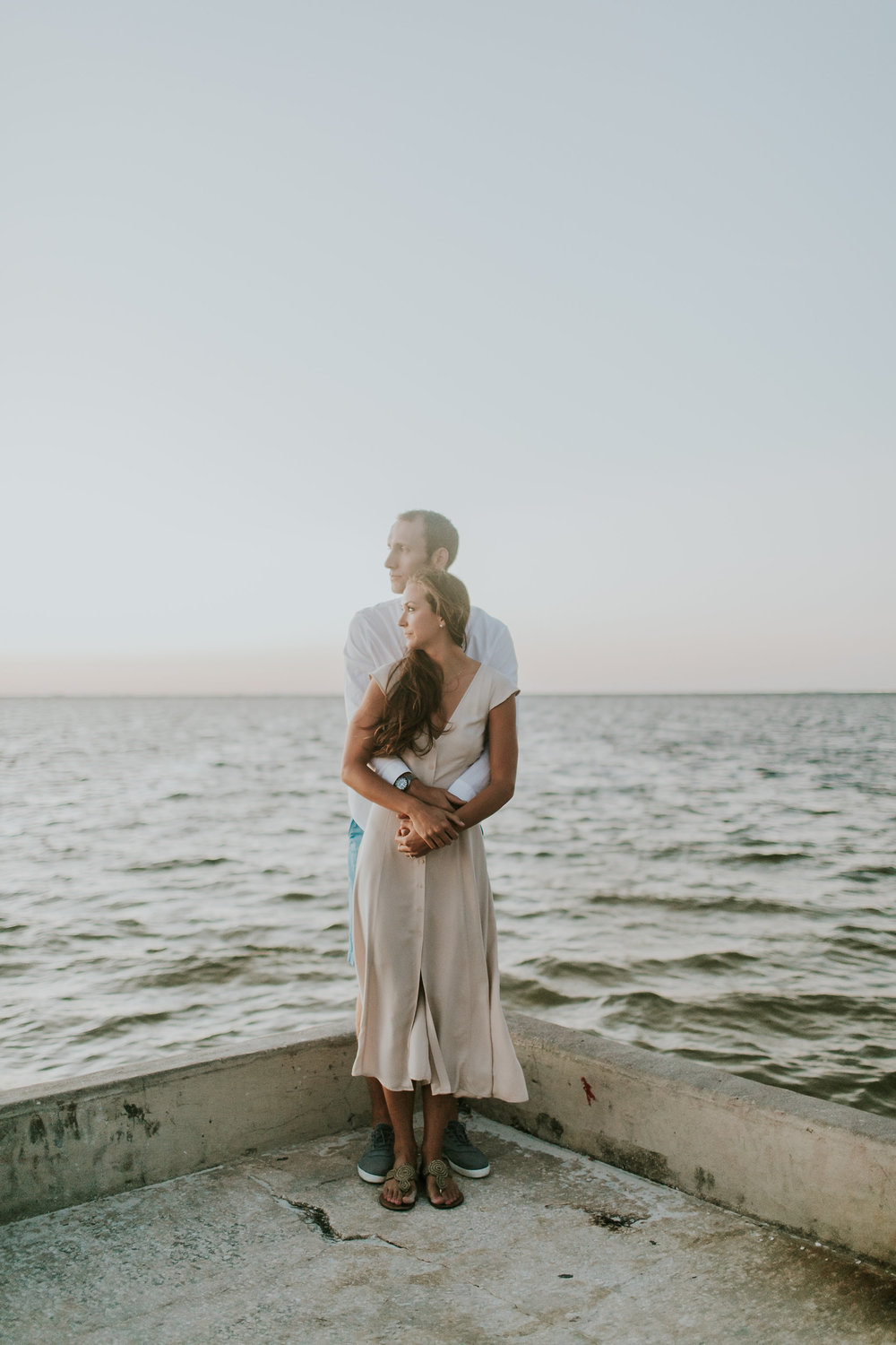North Shore Park Sunrise Engagement Session St Pete Florida_05.jpg