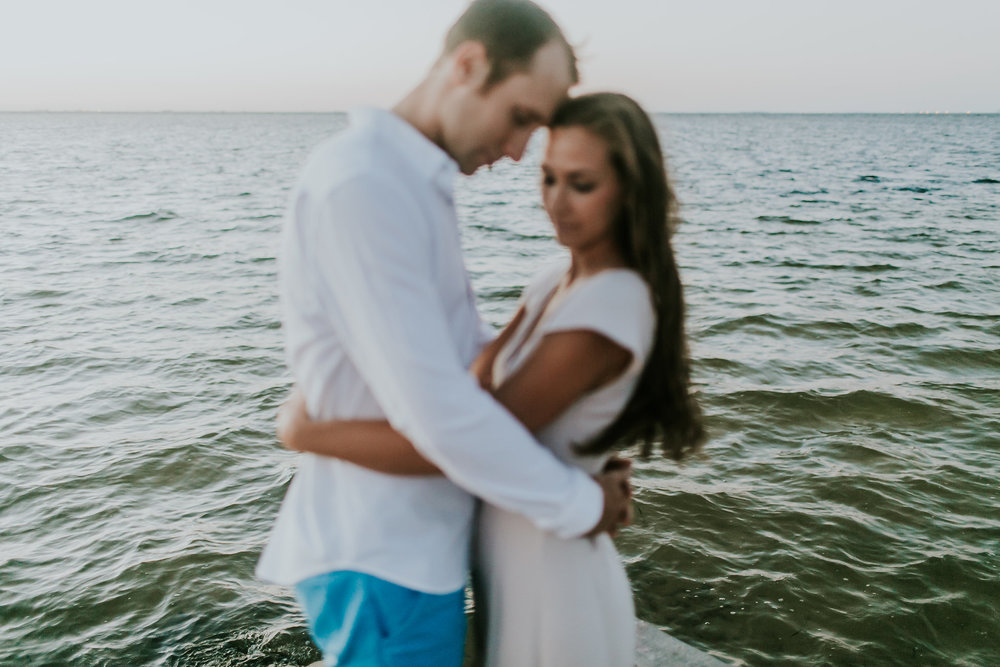 North Shore Park Sunrise Engagement Session St Pete Florida_07.jpg