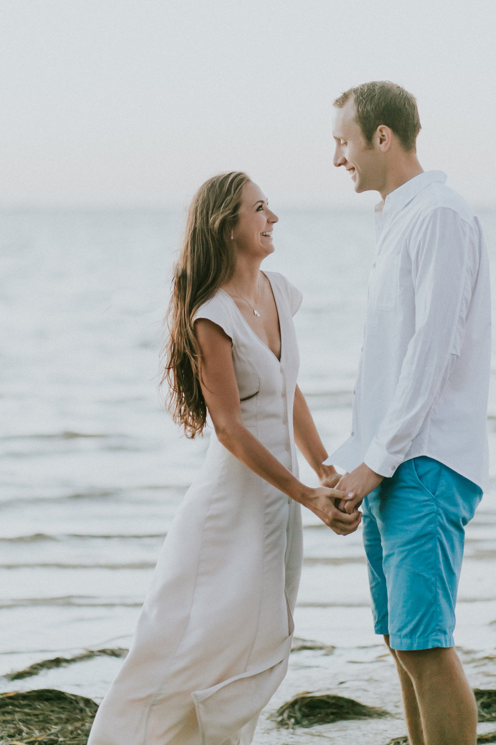North Shore Park Sunrise Engagement Session St Pete Florida_11.jpg