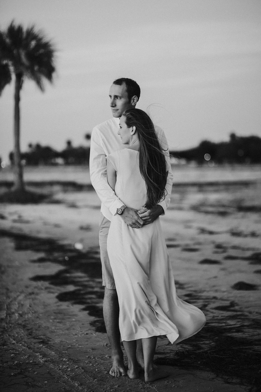 North Shore Park Sunrise Engagement Session St Pete Florida_14.jpg