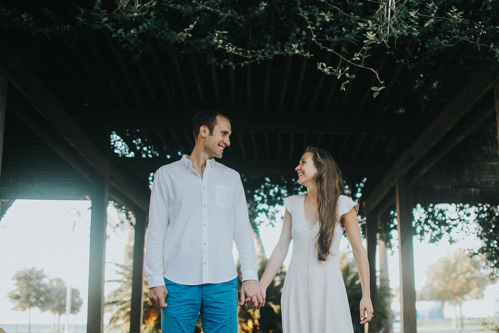 North Shore Park Sunrise Engagement Session St Pete Florida_22.jpg
