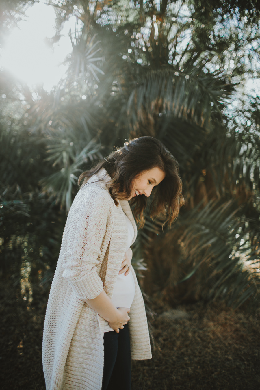 Seminole Tampa Heights Maternity session Locale Church -5.jpg