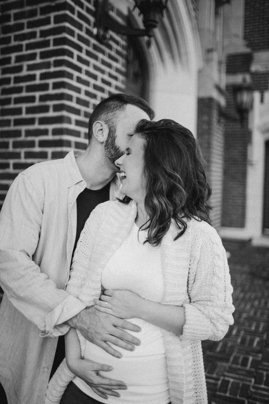 Seminole Tampa Heights Maternity session Locale Church -9.jpg