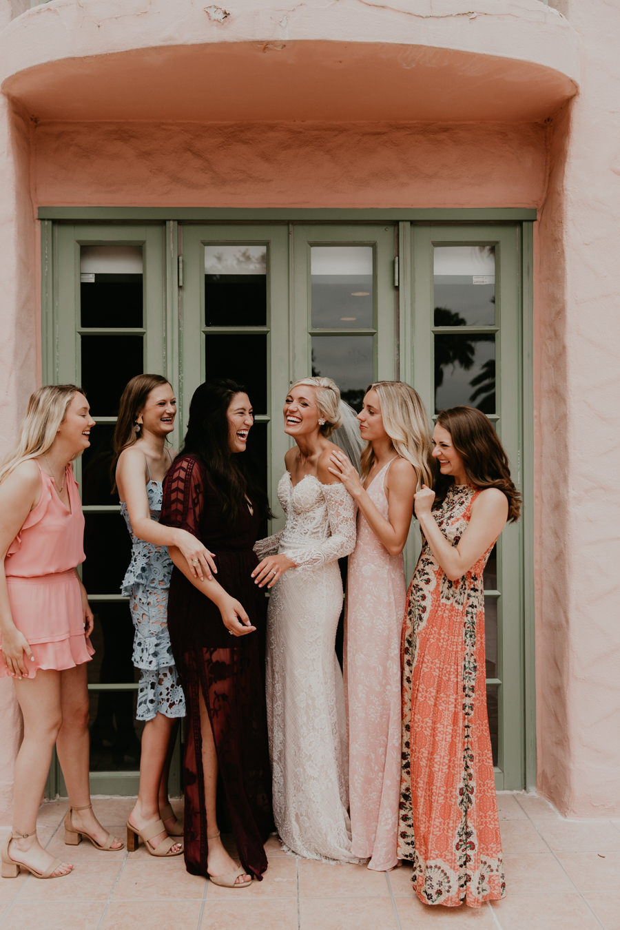 Neely rose gold boho wedding in st pete vinoy A and be Miami first baptist of st pete park shore grill Tampa Wedding Photographer -54.jpg