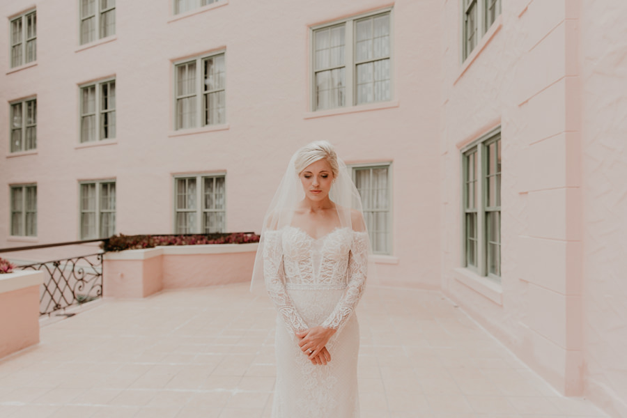 Neely rose gold boho wedding in st pete vinoy A and be Miami first baptist of st pete park shore grill Tampa Wedding Photographer -64.jpg
