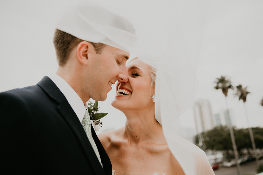 Neely rose gold boho wedding in st pete vinoy A and be Miami first baptist of st pete park shore grill Tampa Wedding Photographer -95.jpg