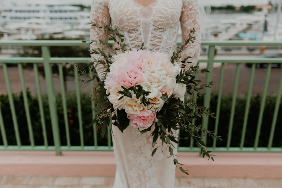 Neely rose gold boho wedding in st pete vinoy A and be Miami first baptist of st pete park shore grill Tampa Wedding Photographer -101.jpg