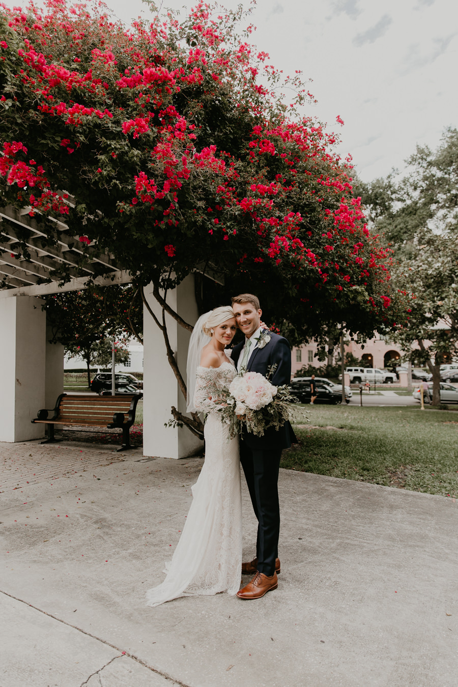 Neely rose gold boho wedding in st pete vinoy A and be Miami first baptist of st pete park shore grill Tampa Wedding Photographer -132.jpg