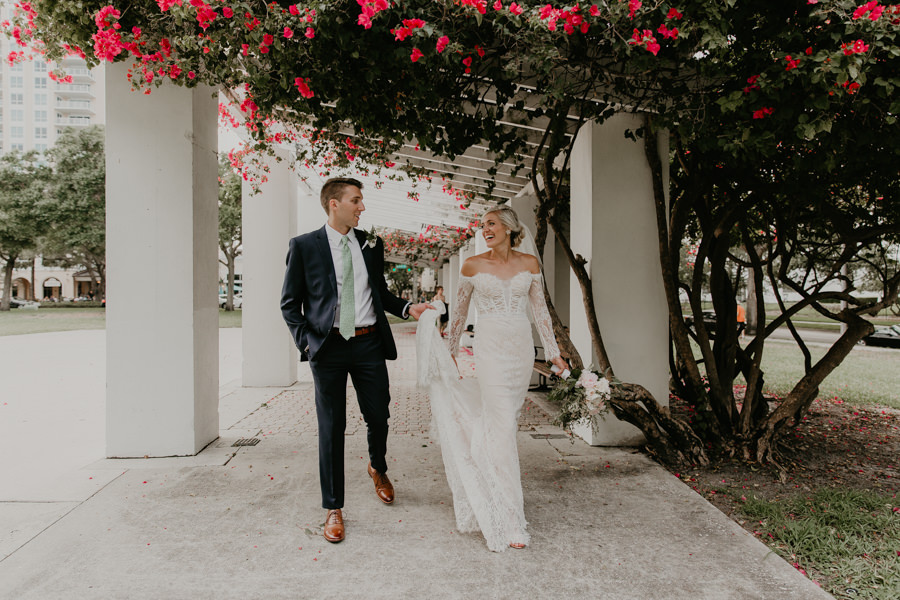Neely rose gold boho wedding in st pete vinoy A and be Miami first baptist of st pete park shore grill Tampa Wedding Photographer -141.jpg