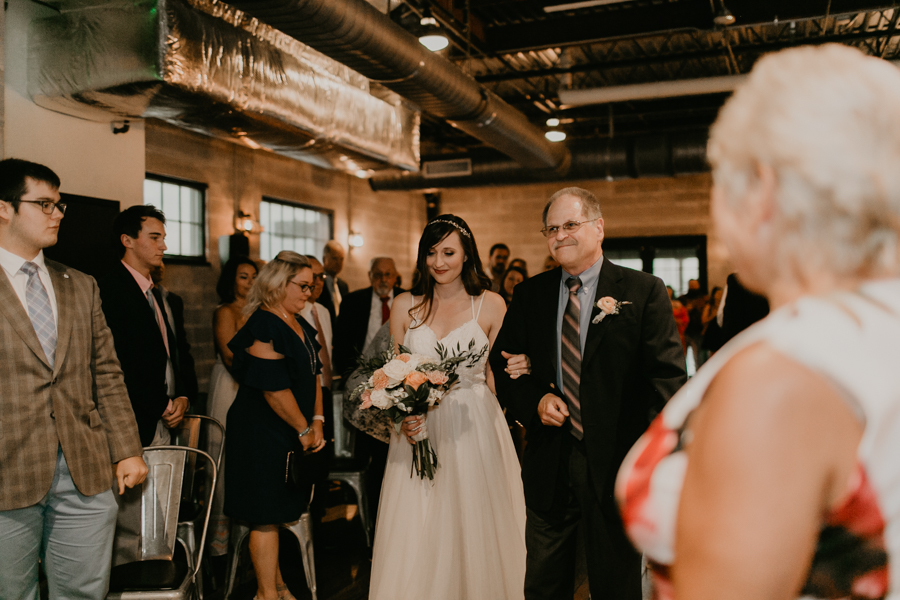 Stephanie And Kent Bailey Tampa Florida Romantic Wedding At Coppertail Brewery in Ybor Florist Fire BHLDN Mis En Place Ibex String Quartet Let Them Eat Cake -37.jpg