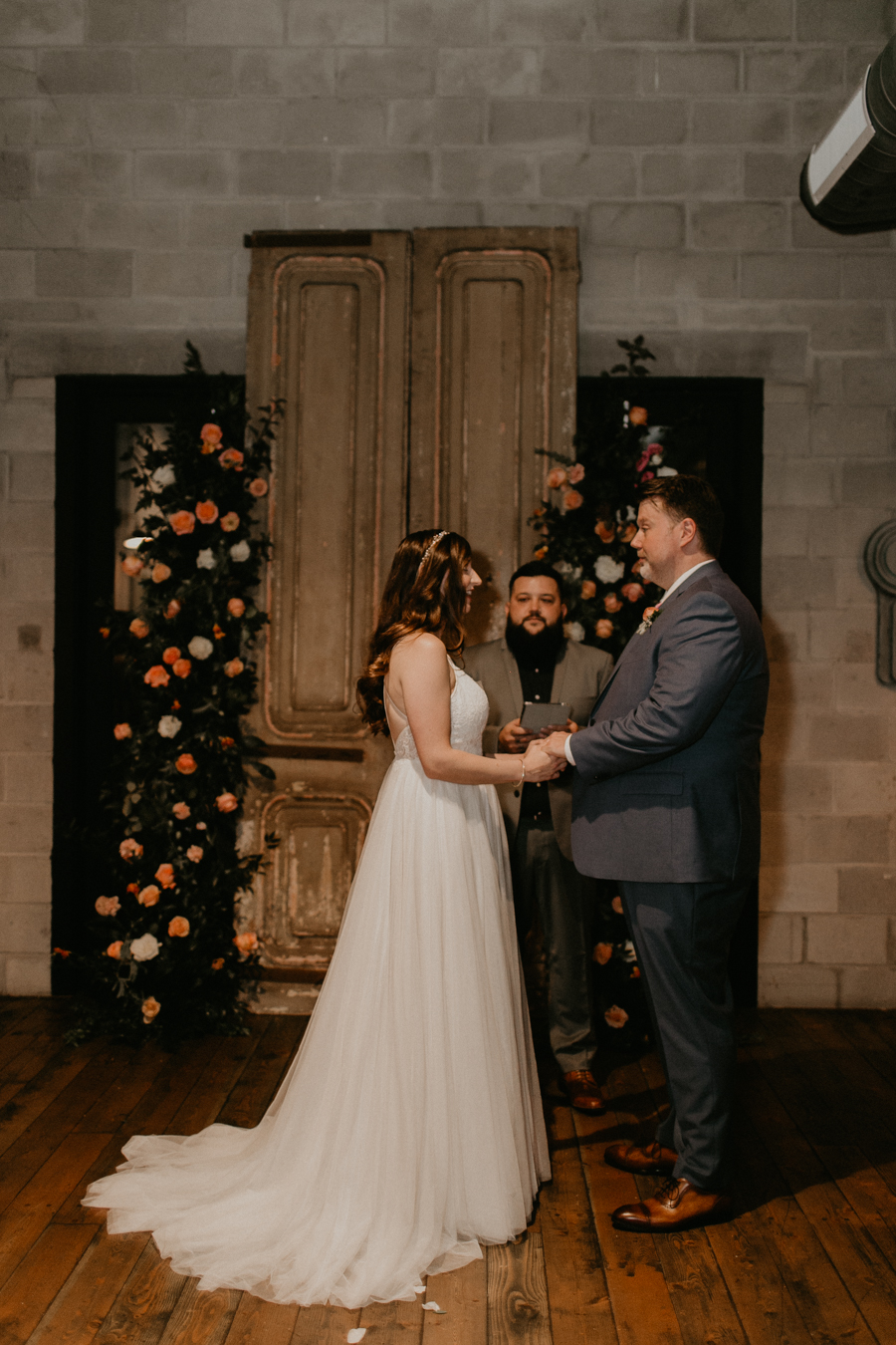 Stephanie And Kent Bailey Tampa Florida Romantic Wedding At Coppertail Brewery in Ybor Florist Fire BHLDN Mis En Place Ibex String Quartet Let Them Eat Cake -46.jpg