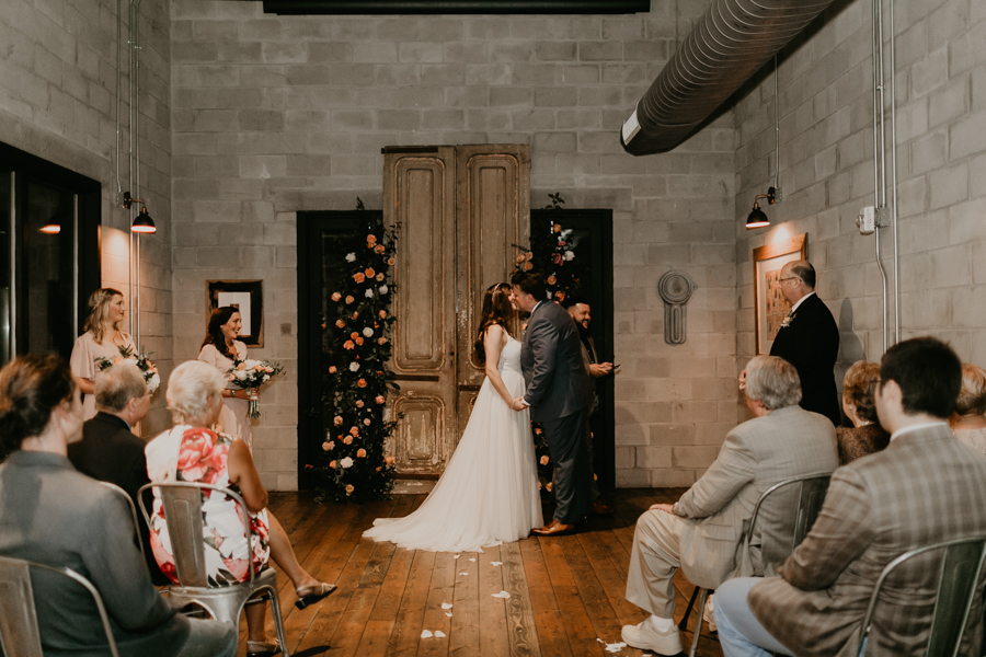 Stephanie And Kent Bailey Tampa Florida Romantic Wedding At Coppertail Brewery in Ybor Florist Fire BHLDN Mis En Place Ibex String Quartet Let Them Eat Cake -48.jpg