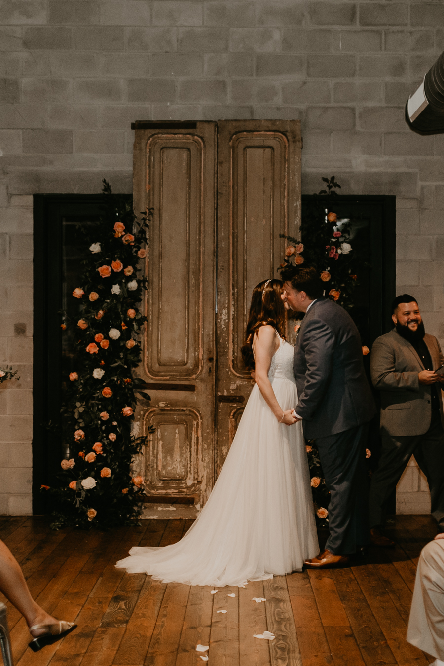Stephanie And Kent Bailey Tampa Florida Romantic Wedding At Coppertail Brewery in Ybor Florist Fire BHLDN Mis En Place Ibex String Quartet Let Them Eat Cake -49.jpg